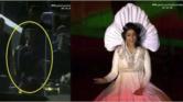 """شوفو ردة فعل """"مولاي الحسن"""" لحظة عزف """"ابتسام تسكت"""" للنشيد الوطني المغربي في افتتاح الشان"""