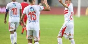 """المغربي """"أشرف بنشرقي"""" يسجل هدفا رائعا للزمالك"""