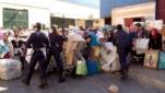 بعد قرارات المغرب الأخيرة : تجار سبتة المحتلة يفرغون مخازن سلعهم