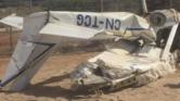 عاجل.. سقوط طائرة في القنيطرة