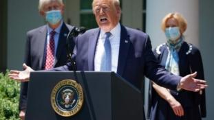 قبل نهاية العام.. ترامب يعلن عن إنتاج 100 مليون جرعة من لقاح كورونا